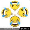 형식 주문 사랑스러운 노란 사기질 Emoji 마스크 금속 매력
