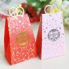 Reciclar la caja de papel del caramelo de la boda/la caja de regalo con la estampilla caliente