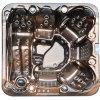Lucite Bronze SPA OpenluchtHot Tub Minipiscine SPA