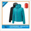 Revestimento ao ar livre morno de Packaway do inverno para baixo para mulheres