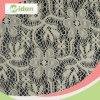 花嫁の綿およびナイロン白いトリコットの網のレースファブリック