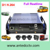 1/2/4 Kanal H. 264 Mobile DVR für Vehicles Schulbus Truck Car Support Hard Drive