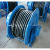 Cilindro reelerado de cable con muelle para cable eléctrico de 30 m