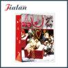 Bolsa de papel impresa 4c al por mayor del portador de las compras del embalaje del regalo de la Navidad