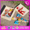Nuovo gioco di legno del giocattolo di puzzle 2015, giocattolo di legno popolare di puzzle, gioco di legno di puzzle di vendita calda, puzzle di legno per i bambini W14D013
