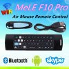 Mele F10 mini teclado inalámbrico de 2,4 Ghz volar Air Mouse con mando a distancia