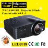 Projecteur de l'affichage à cristaux liquides LED de vidéo de multimédia de soutien 1080P