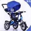 Hochwertige 4 in 1 Trike Spaziergänger-Babypram-Dreirad
