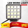 48W de LEIDENE Lamp van het Werk Waterdichte IP67