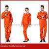 2017年の工場カスタムオレンジ綿ポリエステル働くWorkwear (W24)