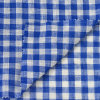 New Arrival Woven Yarn Dyed Check Linen Fabrics for Garment