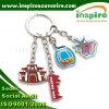 Attraktives Metall Keychain mit kundenspezifischem Firmenzeichen