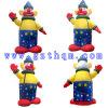 Le clown gonflable modèle Cartoon