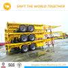 Flachbett-oder Plattform-Behälter-halb LKW-Schlussteil von China