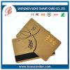 Carta magnetica per l'amministrazione di lealtà con l'oro del bollo