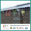 Стены Anti-Climb предельно борона с остроконечными зубьями на верхней части стены ограды с остроконечными зубьями