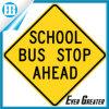 Желтый водонепроницаемый школьном автобусе, отражающей потепления наклейки