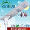 indicatore luminoso di via solare Integrated di 40W LED con 3 anni di garanzia