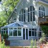 アルミニウム半端もの整形二重緩和されたガラスの庭のSunroom (FT-S)