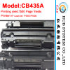 Toner Preto Marca Novo / alta qualidade para HP CB435A / para HP CB436A
