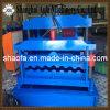 Glasig-glänzende Fliese-Dach-Blatt-Rolle, die Maschine für Metallgewölbtes Dach-Panel-Profil bildet