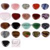 Piedra piedra preciosa de masaje con piedras semi preciosas La preocupación del pulgar (ESB02007)