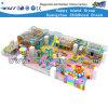 Jouets en plastique d'enfants de glissière de cours de jeu molles d'intérieur (HD-0122)