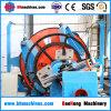 Cable subterráneo galvanizado electro vendedor caliente del alambre que pone la máquina