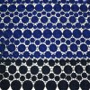 Hot Sell Double Color 100% Polyester Embroidery Garment Lace Fabric