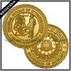 Золотистая коммеморативная монетка для Отдела Юстиции (BYH-10562)
