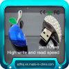 Plástico giratorio de OEM 1-32GB Logotipo personalizado unidad Flash USB