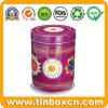 100g, 200g, latte su ordinazione del tè dello stagno del metallo di vendita calda 400g