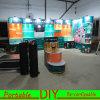 Soporte de visualización modular portable de la exposición, cabina movible de la feria profesional