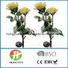 Lámpara solar de la nueva del diseño del jardín de la flor de la lámpara del lirio luz solar solar de la flor para la decoración del jardín