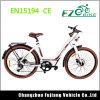 Vélo électrique de lithium femelle chaud de vente 36V 250W avec la commande de puissance
