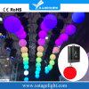 Handkurbel des Drache-Handelszentrum-Dubai-Absinken-0-12m mit Kugel-Disco beleuchtet Partei-Stadt