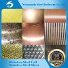 Het Blad van het Roestvrij staal AISI 409 met Patroon voor Bouw