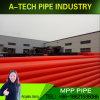 Электрическая мощность производства пластмассовых кабельных защиты Втулка трубопровода Mpp