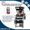 Máquina de etiquetas semiautomática do frasco redondo para o frasco da medicina (MT-50B)