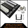 Migliore profilo di alluminio quadrato di vendita del LED per il progetto di illuminazione della cucina con il coperchio del PC (SJ-ALP1612)