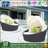 Открытый бассейн на пляже садовая мебель из ротанговой пальмы PE для загара разобрать кровать (TGLU-08)