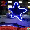 Lumière pendante de Noël multicolore d'étoile de signe au néon pour le jardin Decoartion de stationnement