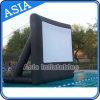 Écran de film flaoting à eau gonflable de bâche de PVC de 0,9 mm pour la promotion