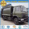 Dongfeng 180 HP 6の車輪の屑の圧縮機械のトラック15のTのコンパクターのごみ収集車
