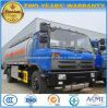 Dongfeng 6은 10 M3 연료 유조선 10000 L 무례한 석유 탱크 트럭을 선회한다