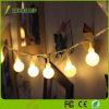 Cuadro de la batería/USB/LED de luz solar Globe cadena 5m 9m de luz de Navidad