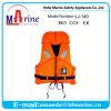 Cor-de-laranja piloto jaqueta de Vida Marinha