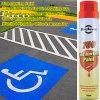 Línea aerosol de la etiqueta de plástico del camino de la pintura de aerosol de la marca del punto de la pintura de la marca