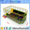 Trampolín de interior de salto modificado para requisitos particulares de la aptitud de la base del amortiguador auxiliar profesional del diseño