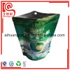 El logotipo de la impresión de papel de aluminio compuesto de plástico de bolsa para las astillas secas